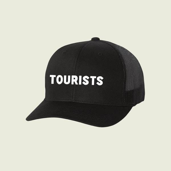 tourists hat